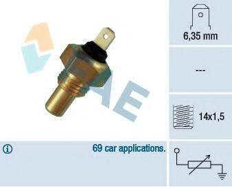 FAE 31460 Датчик, температура охлаждающей жидкости