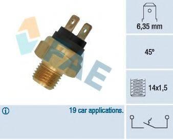 FAE 35500 термовыключатель, сигнальная лампа охлаждающей жидкости