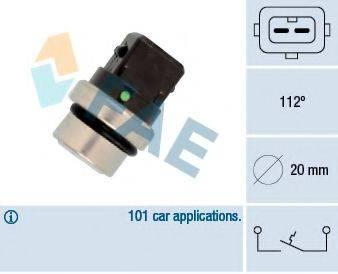 FAE 35640 термовыключатель, сигнальная лампа охлаждающей жидкости