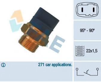 FAE 36370 Термовыключатель, вентилятор радиатора
