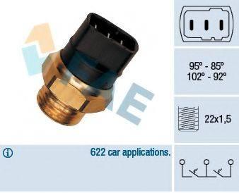FAE 37820 Термовыключатель, вентилятор радиатора