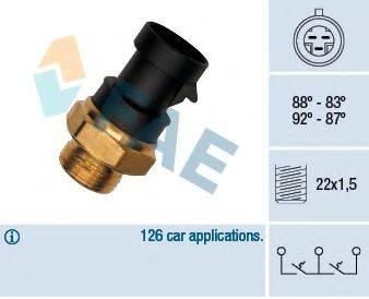 FAE 37900 Термовыключатель, вентилятор радиатора