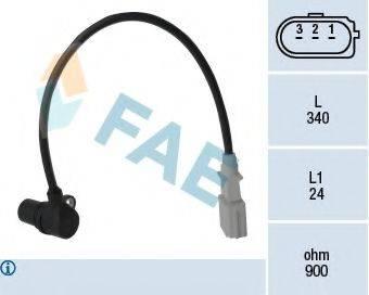FAE 79198 Датчик импульсов; Датчик частоты вращения, управление двигателем