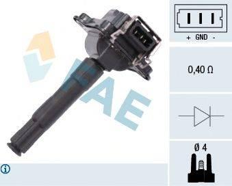 FAE 80252 Катушка зажигания