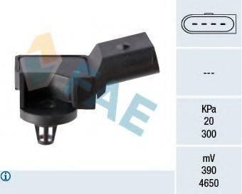 FAE 15007 Датчик, давление во впускном газопроводе