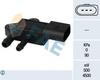 FAE 16101 Датчик, давление выхлопных газов