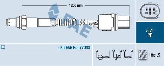 FAE 75050 Лямбда-зонд