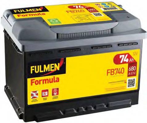 FULMEN FB740 Стартерная аккумуляторная батарея; Стартерная аккумуляторная батарея