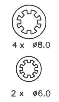 NECTO N1325 Комплект тормозных колодок
