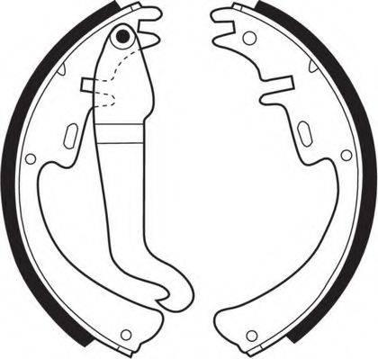 NECTO N1047 Комплект тормозных колодок
