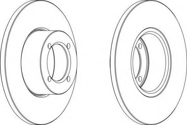 NECTO WN233 Тормозной диск