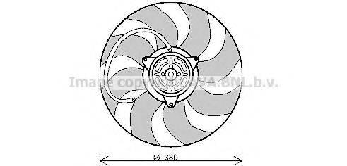 AVA QUALITY COOLING AI7513 Вентилятор, охлаждение двигателя
