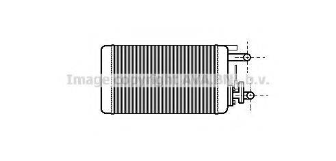 AVA QUALITY COOLING FT6106 Теплообменник, отопление салона