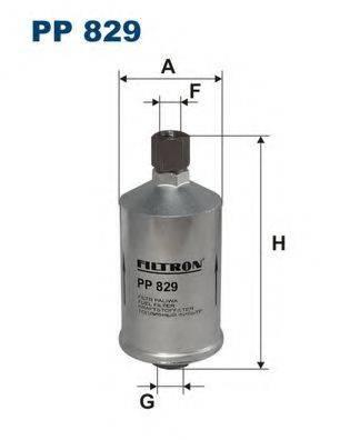 FILTRON PP829 Топливный фильтр