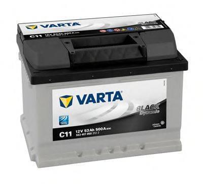 VARTA 5534010503122 Стартерная аккумуляторная батарея; Стартерная аккумуляторная батарея