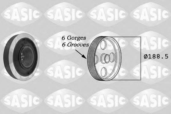 SASIC 9001805 Ременный шкив, коленчатый вал