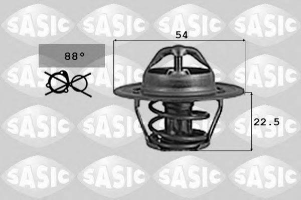 SASIC 9000742 Термостат, охлаждающая жидкость