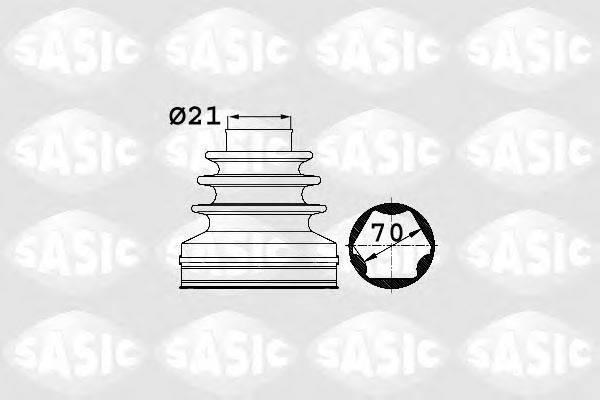 SASIC 1906025 Комплект пылника, приводной вал