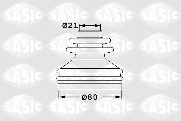 SASIC 1906029 Комплект пылника, приводной вал