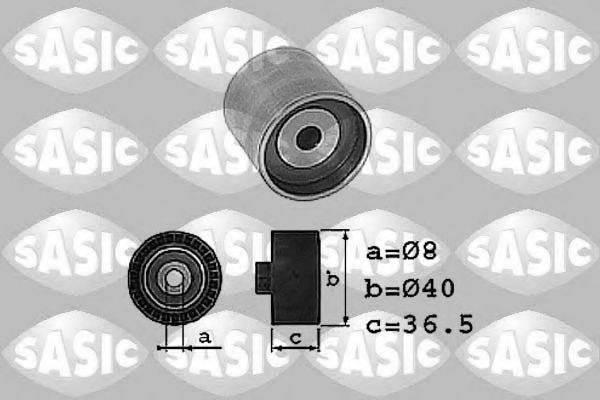 SASIC 1706006 Паразитный / Ведущий ролик, зубчатый ремень