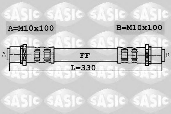SASIC 6606008 Тормозной шланг