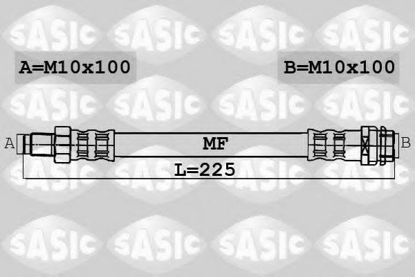 SASIC 6606078 Тормозной шланг