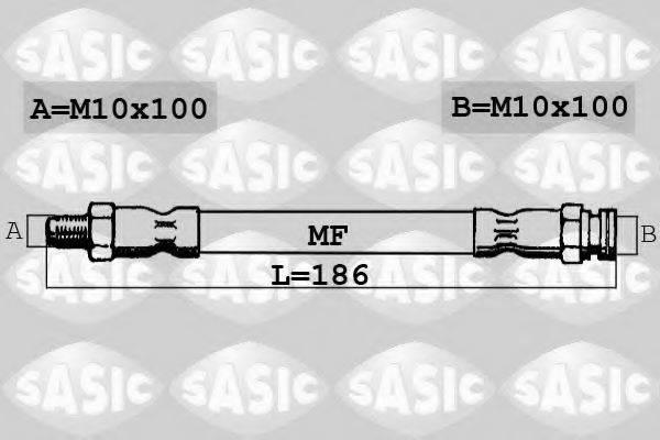SASIC SBH6311 Тормозной шланг