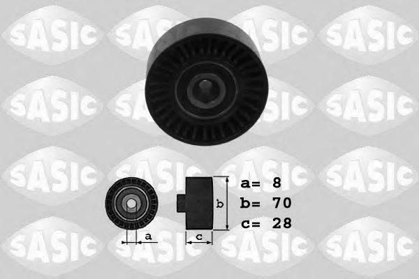 SASIC 1626038 Паразитный / ведущий ролик, поликлиновой ремень