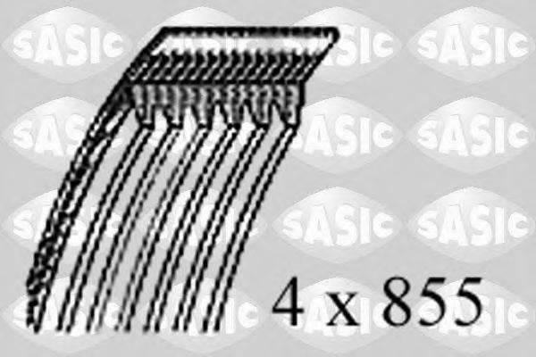 SASIC 1770009 Поликлиновой ремень