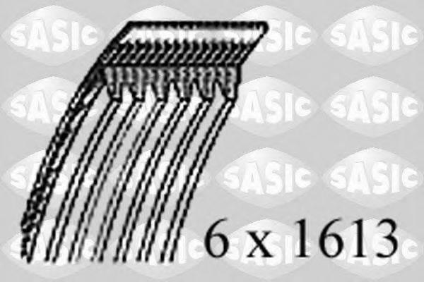 SASIC 1776078 Поликлиновой ремень