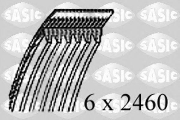 SASIC 1776089 Поликлиновой ремень