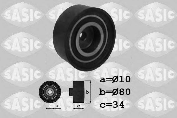SASIC 1706022 Паразитный / Ведущий ролик, зубчатый ремень