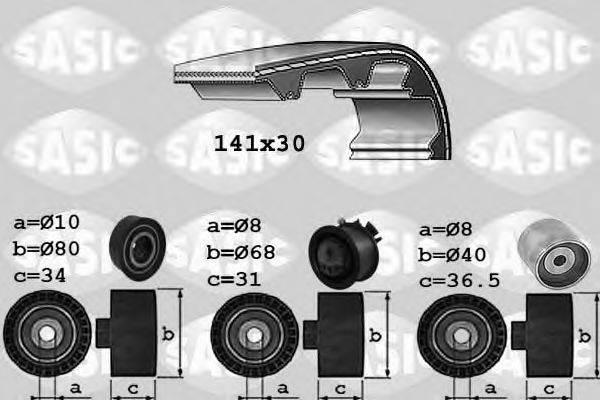 SASIC 1756021 Комплект ремня ГРМ