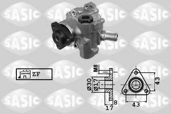 SASIC 7076078 Гидравлический насос, рулевое управление