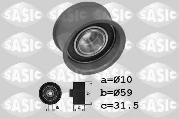 SASIC 1706083 Паразитный / Ведущий ролик, зубчатый ремень