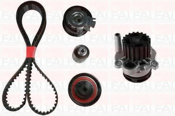FAI AUTOPARTS TBK4556335 Водяной насос + комплект зубчатого ремня