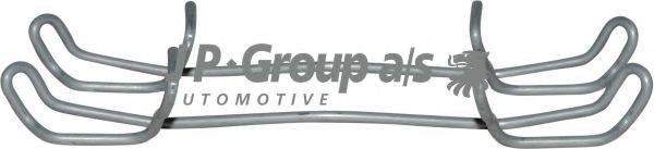 JP GROUP 1163650210 Комплектующие, колодки дискового тормоза