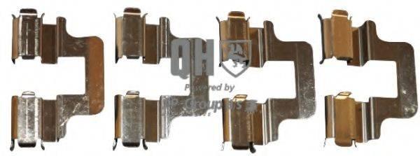 JP GROUP 1163651019 Комплектующие, колодки дискового тормоза