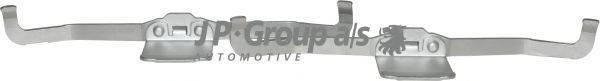 JP GROUP 1163651110 Комплектующие, колодки дискового тормоза