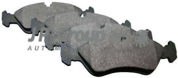 JP GROUP 1263600910 Комплект тормозных колодок, дисковый тормоз