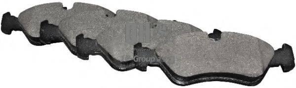 JP GROUP 1263600919 Комплект тормозных колодок, дисковый тормоз