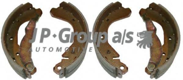 JP GROUP 1263900810 Комплект тормозных колодок