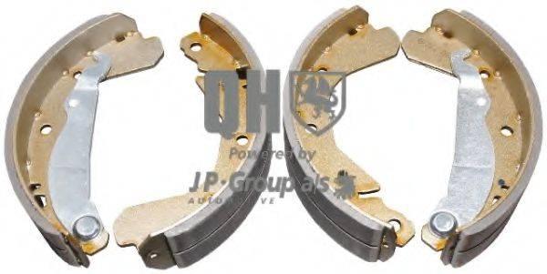 JP GROUP 1263900819 Комплект тормозных колодок