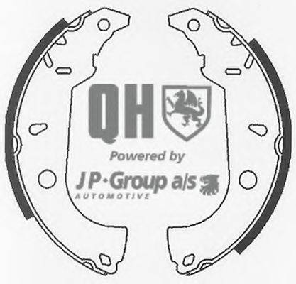 JP GROUP 3363900119 Комплект тормозных колодок
