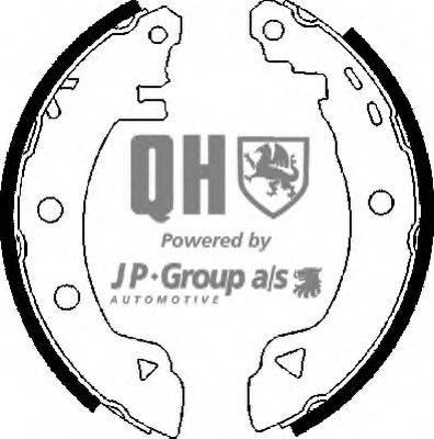 JP GROUP 4363900119 Комплект тормозных колодок