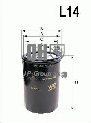 JP GROUP 1118505509 Масляный фильтр
