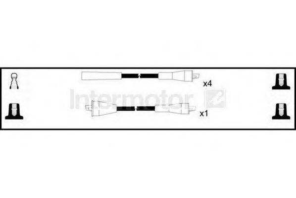 STANDARD 73508 Комплект проводов зажигания