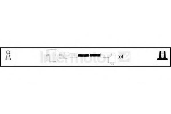 STANDARD 73542 Комплект проводов зажигания