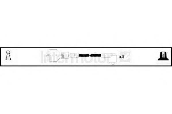 STANDARD 73762 Комплект проводов зажигания