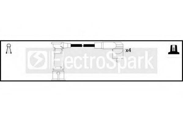 STANDARD OEK494 Комплект проводов зажигания